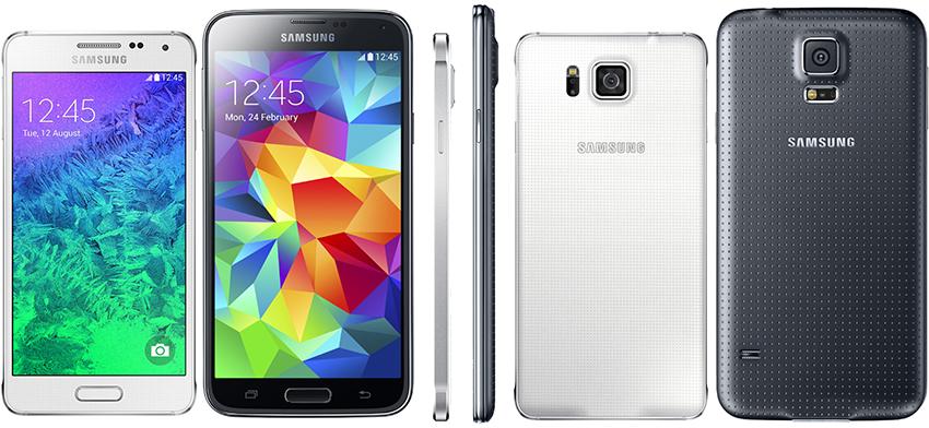 Comparatie Samsung Galaxy S5 si Samsung Galaxy Alpha - ilovesamsung