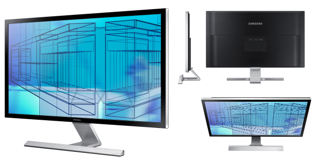 Samsung U28D590D Monitor LED Wide Ultra HD - 1