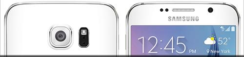 Samsung Galaxy S6 Edge - camera spate si frontala