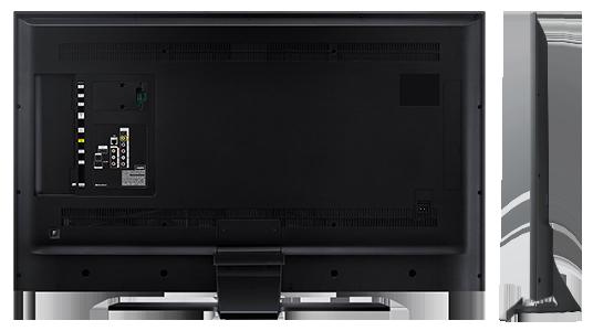 Samsung 48JU7000 -Spate si Profil