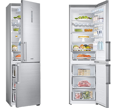 Combina frigorifica Samsung RB41J7359S4 Chef Collection - Deschis