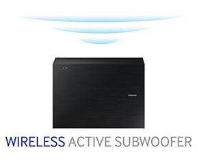 Soundbar Samsung HW-J6500 - Subwoofer