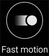Modul Fast Motion (pentru înregistrarea video) - Camera Samsung Galaxy S6 si S6 Edge
