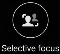 Modul Selective focus (focalizare selectivă) - Camera Samsung Galaxy S6 si S6 Edge