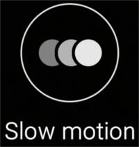 Slow Motion (pentru înregistrarea video) - Camera Samsung Galaxy S6 si S6 Edge