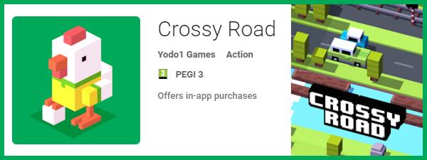 Crossy road pentru Samsung S6 Edge