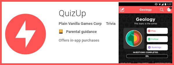 QuizUp pentru Samsung S6 Edge