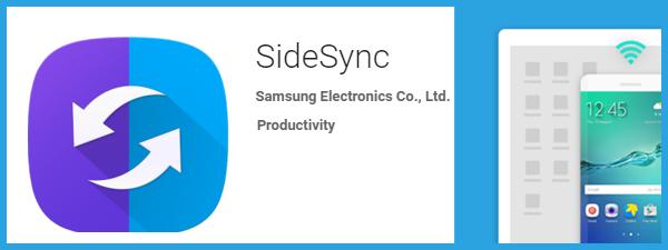 SideSync pentru Samsung S6 Edge