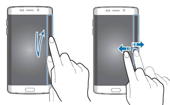Cum se setează și vizualizează un stream informațional pe ecranul lateral a lui Galaxy S6 Edge
