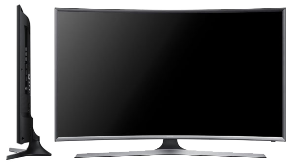 Samsung 32J6300 Smart TV LED - Poza Profil si Fata