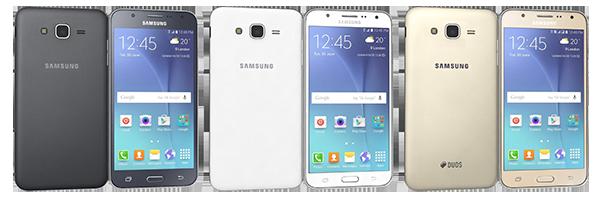 Samsung Galaxy J7 - negru, alb, auriu