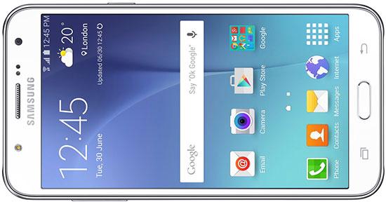 Samsung Galaxy J7 - poza fata