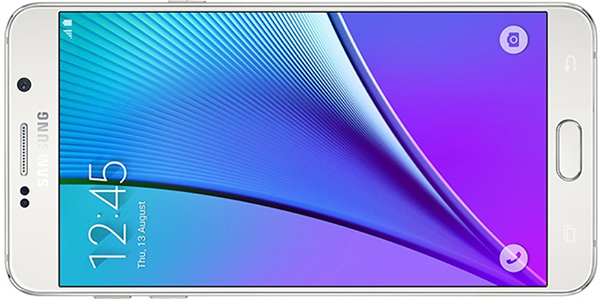 Samsung Galaxy Note 5 - Poza fata