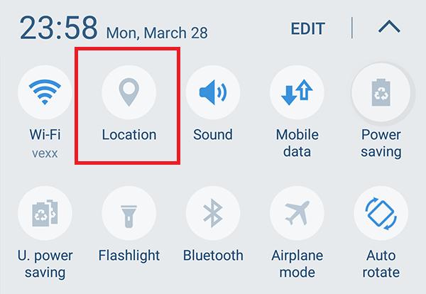 Dezactivează serviciile de localizare pe Galaxy S7 si S7 Edge