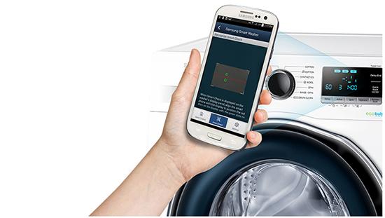 Masina de spalat Samsung EcoBubble™ WW80J6410CW - Smart Check