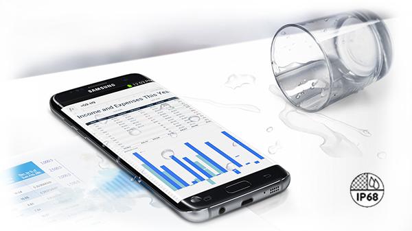Samsung Galaxy S7 Edge - certificat IP68