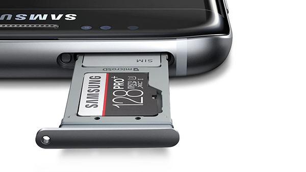 Samsung Galaxy S7 Edge - nano-SIM-ul și microSD-ul