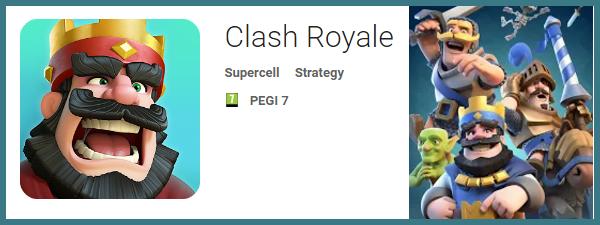 Clash Royale - Jocuri pentru Samsung Galaxy S7 si Galaxy S7 Edge