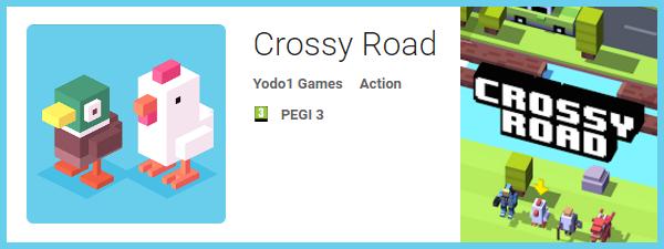 Crossy Road - Jocuri pentru Samsung Galaxy S7 si Galaxy S7 Edge