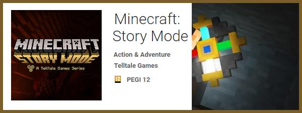 Minecraft Story Mode - Jocuri pentru Samsung Galaxy S7 si Galaxy S7 Edge