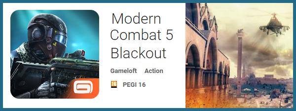 Modern Combat 5 - Jocuri pentru Samsung Galaxy S7 si Galaxy S7 Edge