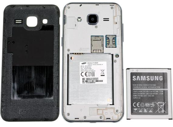 Samsung Galaxy J2 - Bateria