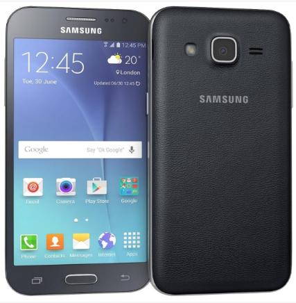 Samsung Galaxy J2 - Fata si Verso