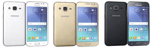 Samsung Galaxy J2 - Optiuni culori