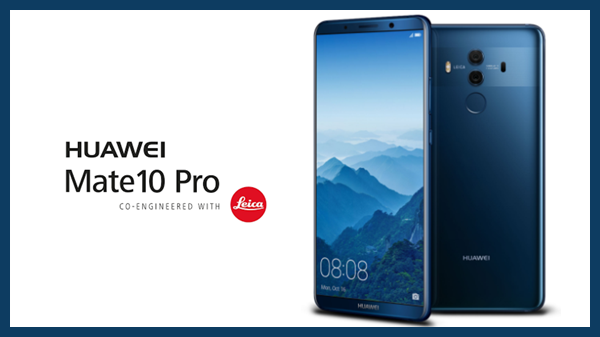 Top 10 telefoane Android Huawei Mate 10 Pro